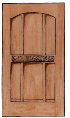 'Auld' Door